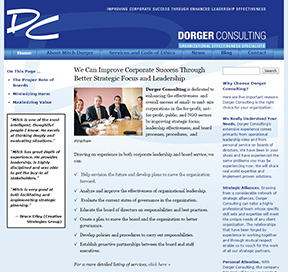 Dorger Consulting home page