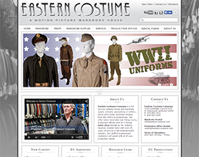 Eastern Costume Web Site