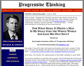 Progressive Thinking home page