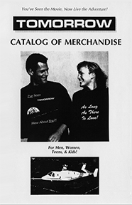 Mock Film Merchandise Catalog
