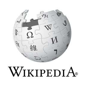 Wikipedia logo and wordmark
