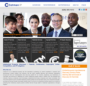 Cotman IP Web Site