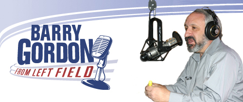 E-Mail Header with Barry Gordon from Left Field Logo and Photo of Barry